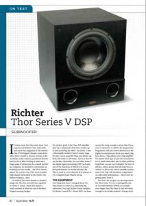 Richter Thor Review 2015