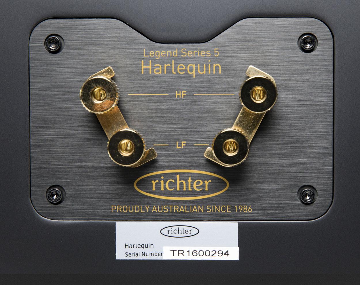 Harlequin V Richter Audio