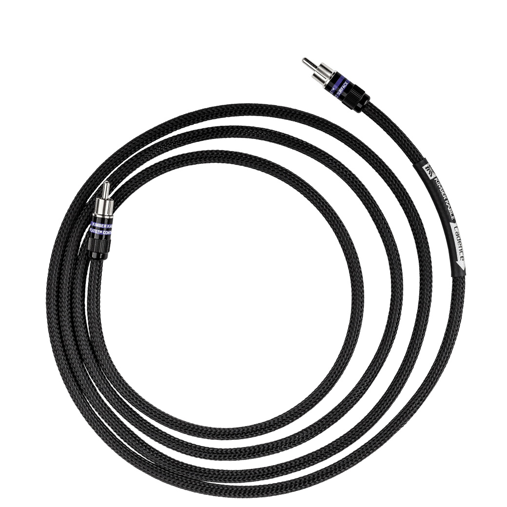 Kimber Kable Cadence Sub Cable Black Ultraplate RCAs-Audio ...
