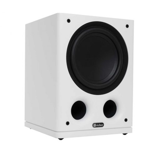 Thor Series 6 Subwoofer Speaker angle - white