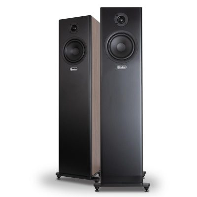 Harlequin Series 6 Walnut Loudspeakers