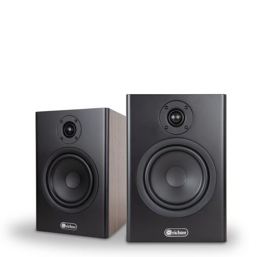 Merlin Series 6 Walnut bookshelf speaker