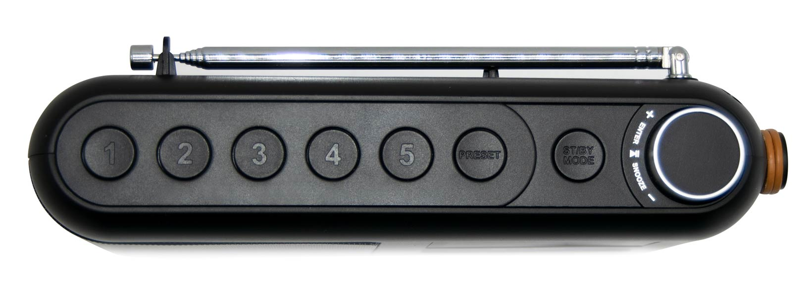 Richter Portable Digital Radio RR20 Top Closeup